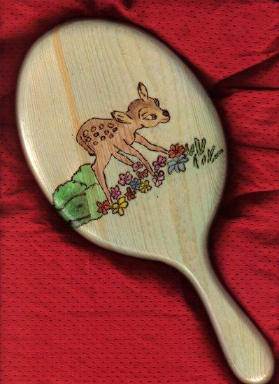 Bambi Deer Handheld Mirror - JWba