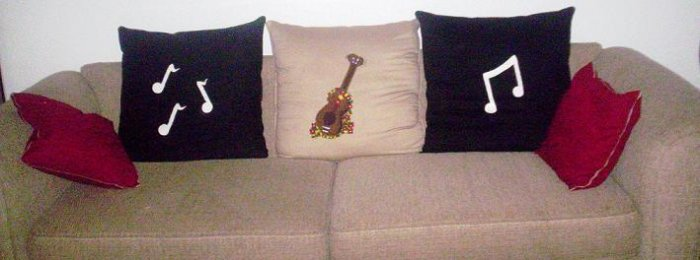 Personalized Couch Pillows - Set of 3 - DDpp