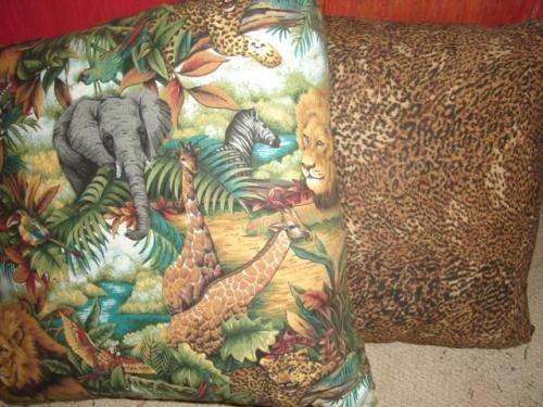 African Print Pillow Set - CGaf