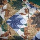 Cabin Print Handmade Throw Blanket - CGwc