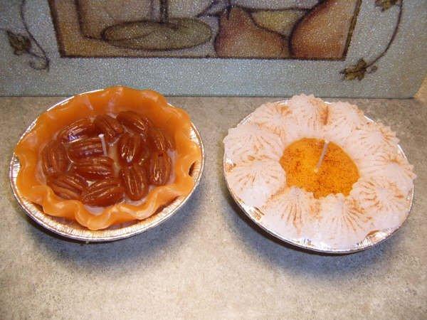 Pecan or Cream Pie Candle - JSpc