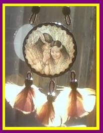 Native American Couple Dreamcatcher - SGco