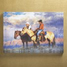 Cowboys Canvas Art Print - MMco