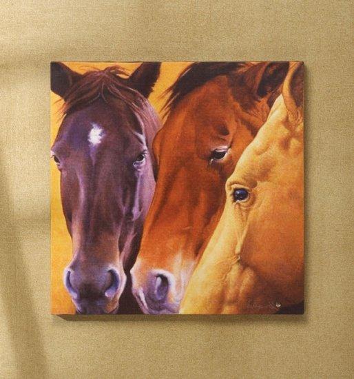 Horses Canvas Art Print - MMho