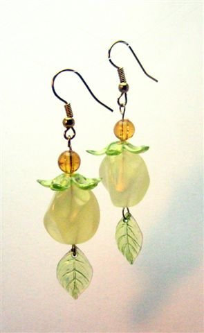 Lovely Leaf Earrings - UEll