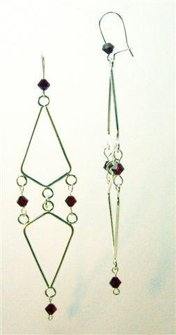 Scarlet Swarovski Earrings - UEsc