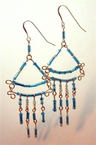 Fancy Chandelier Earrings - UEfc