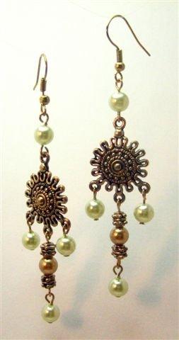 Golden Star Earrings - UEgs