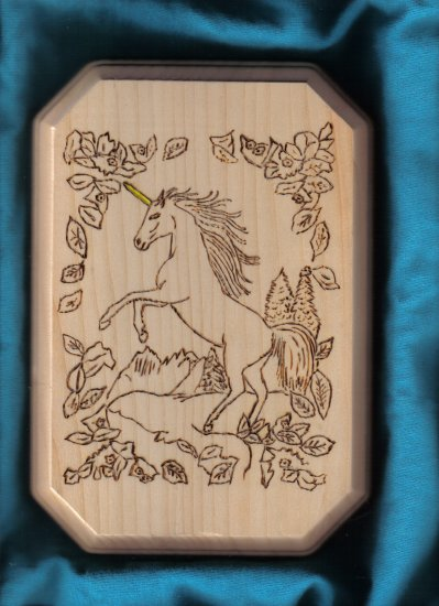 Unicorn Wall Plaque - JWun