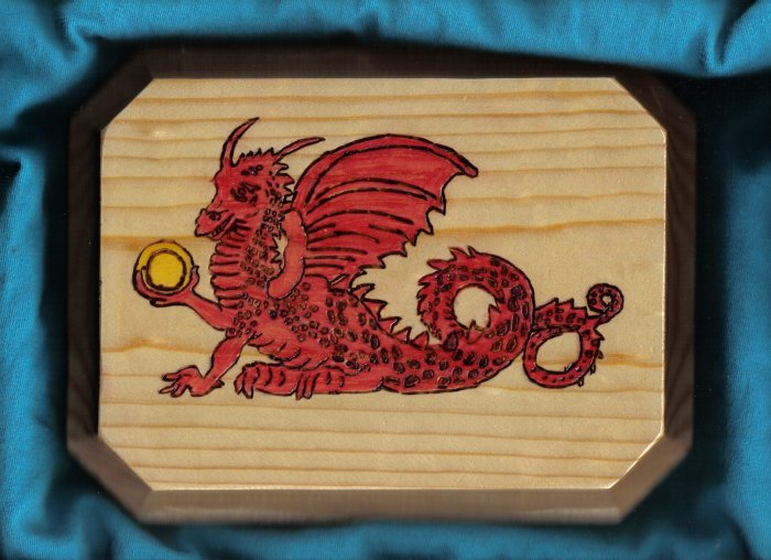 Dragon Wall Plaque - JWdr