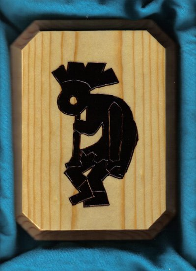 Kokopelli Wall Plaque - JWko
