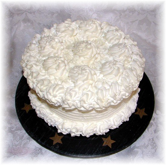 Wedding Cake Candle - JSwc