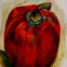 Red Bell Pepper Watercolor - NWrb