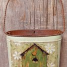 Birdhouse Wall Pocket - GSWALL5