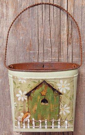 Birdhouse Wall Pocket - GSWALL5