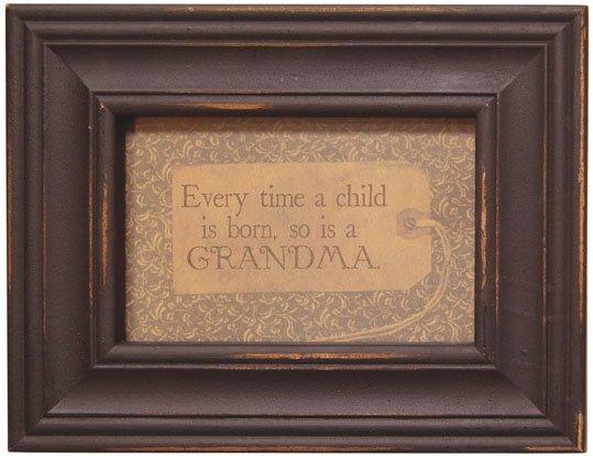 Grandma Framed Verse - G34444