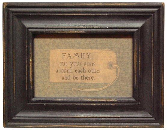 Family Framed Verse - G34429