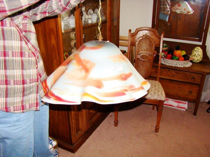 Hand-Blown Hanging Lamp - MXhl