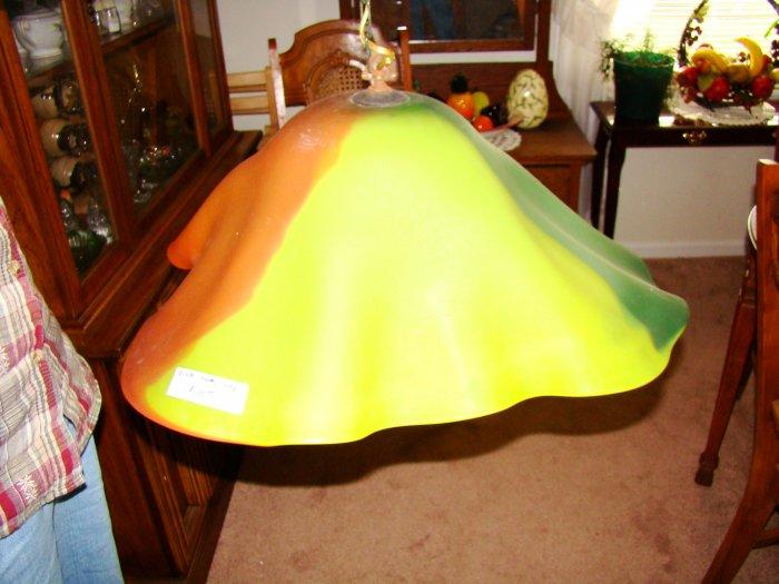 Multi-Color Glass Hanging Lamp - MXml