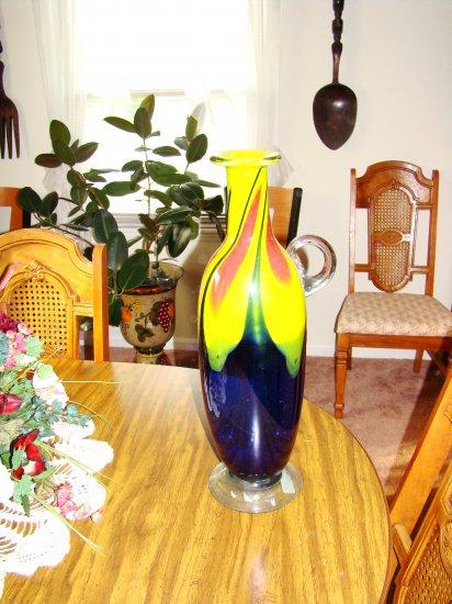 Hand-Blown Glass Jug - MXgj
