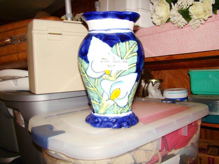 Calla Lily Ceramic Vase - MXcl