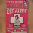 Pet Alert Decals - BBpa