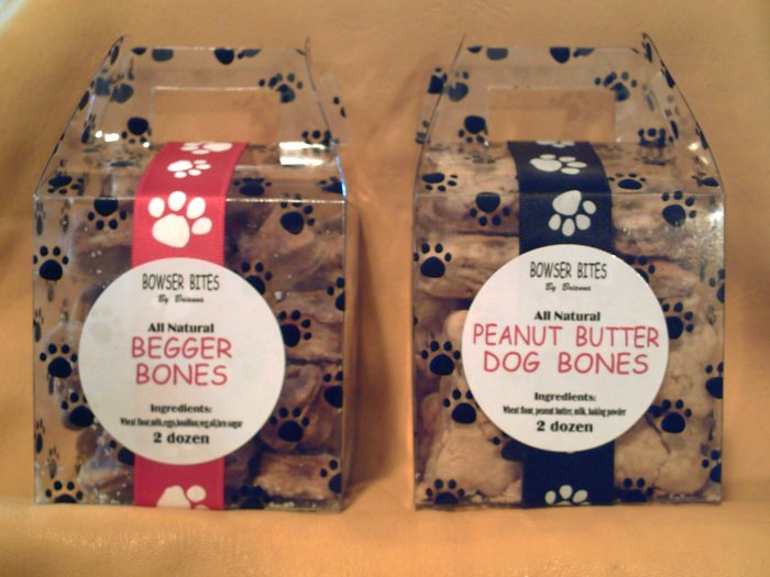 Begger Bones &  Peanut Butter Dog Bones - BBpb2