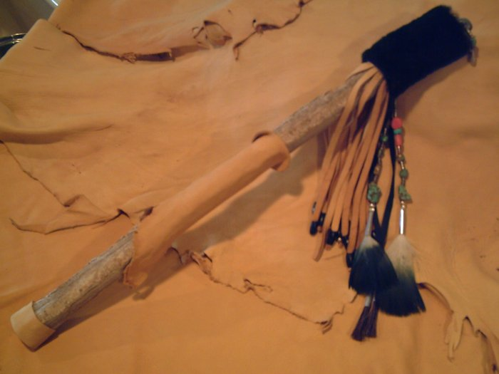 Native American Oro Talking Stick - EMor