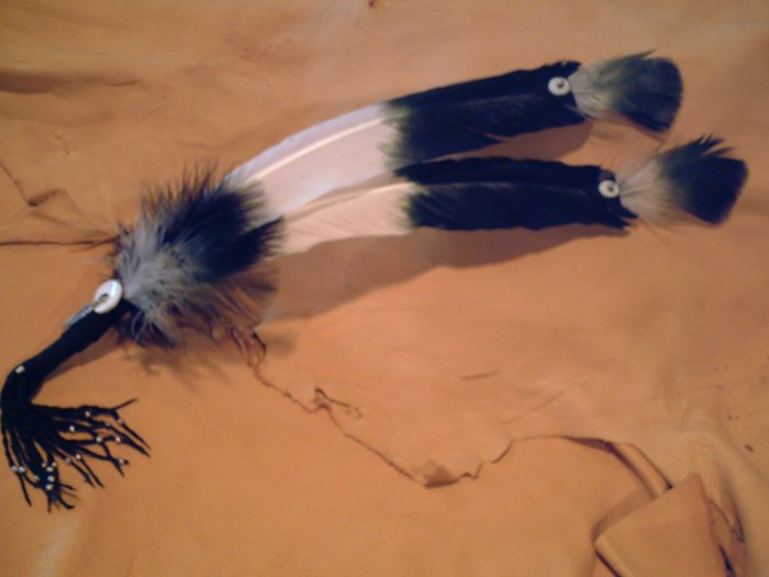 2 Feather Fan - EMff2