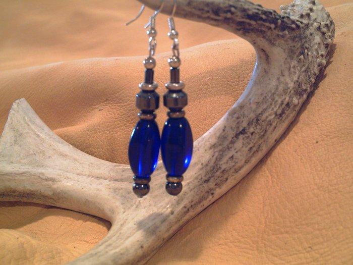 Cobalt Waters Earrings - EMcw