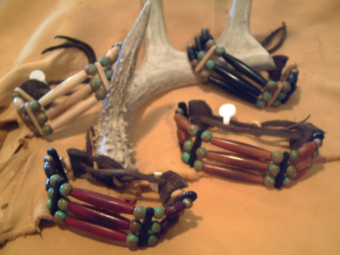 Traditional Hairbone Pipe Bracelets - EMhb