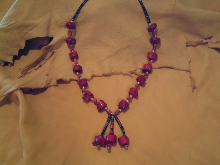 Red Coral Necklace - EMrn