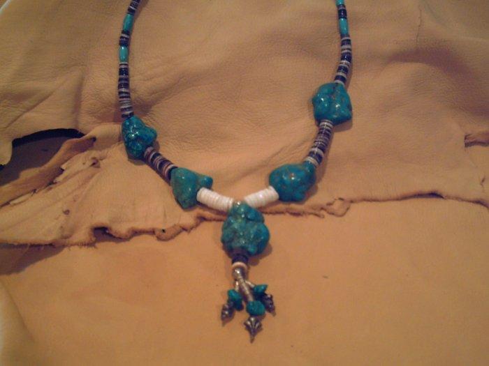 Big Bold Nugget Necklace - EMnn