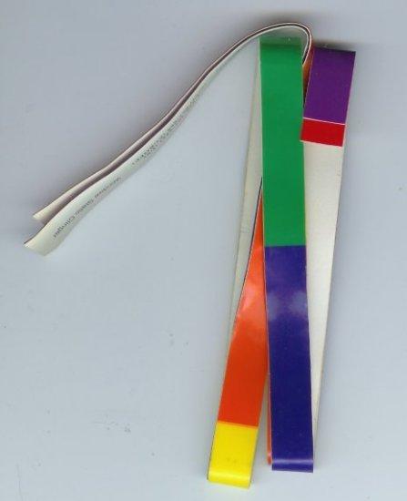 3 Gay Pride Window Static Clingers - EAgp