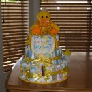 3 Tier Duck Baby Diaper Cake - TH3td