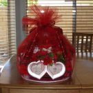 Red Bridal Towel Cake  - THrb