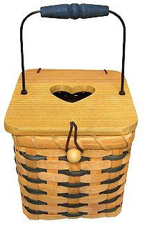 Boutique Tissue Box Basket - CWG25911