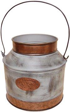 Galvanized Milk Can  - CWG111489
