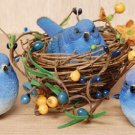 Resin Bluebird - Assorted Poses - Set/3 - CWGD8332