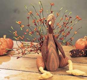 Wild Berry Turkey Table Sitter - CWG12075