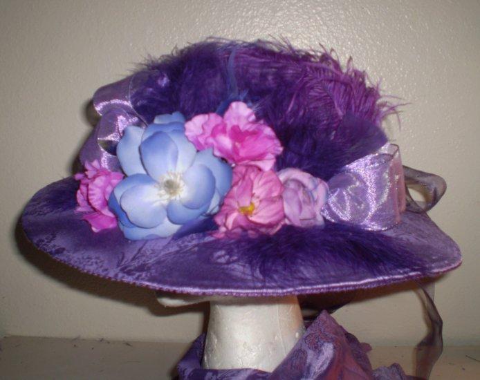 Violet Tea Hat - BL64/5-08