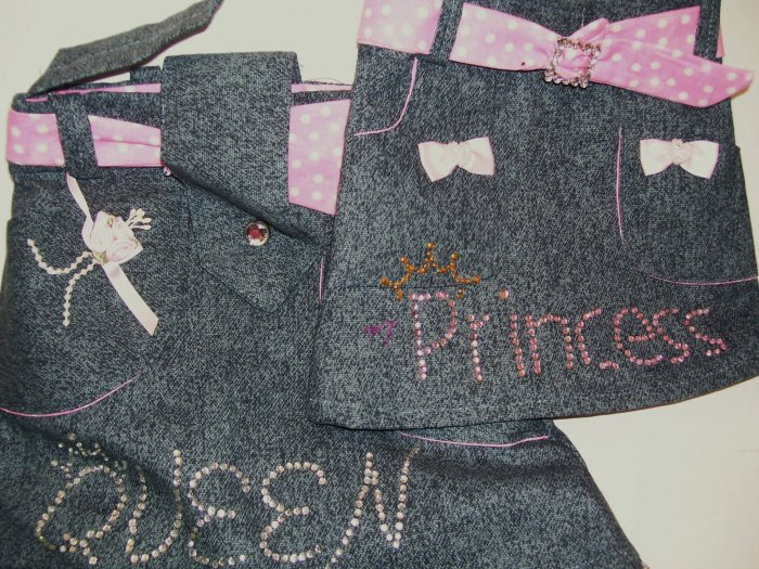Mother/Daughter - Queen/Princess Matching Purses - PPqp