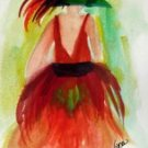Girl 5 Watercolor - NWg5