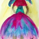 Girl 12 Watercolor - NWg12