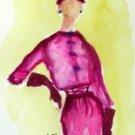 Lady 1 Watercolor - NWl1