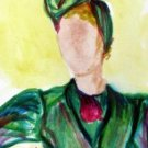 Lady 2 Watercolor - NWl2