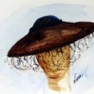 Hat 2 Watercolor - NWh2