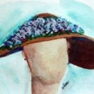 Hat 5 Watercolor - NWh5