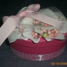 Hot Pink Oval Box - ADKhp