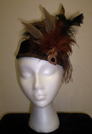 Fancy Feathers Pillbox Hat - BL76/17 - 08